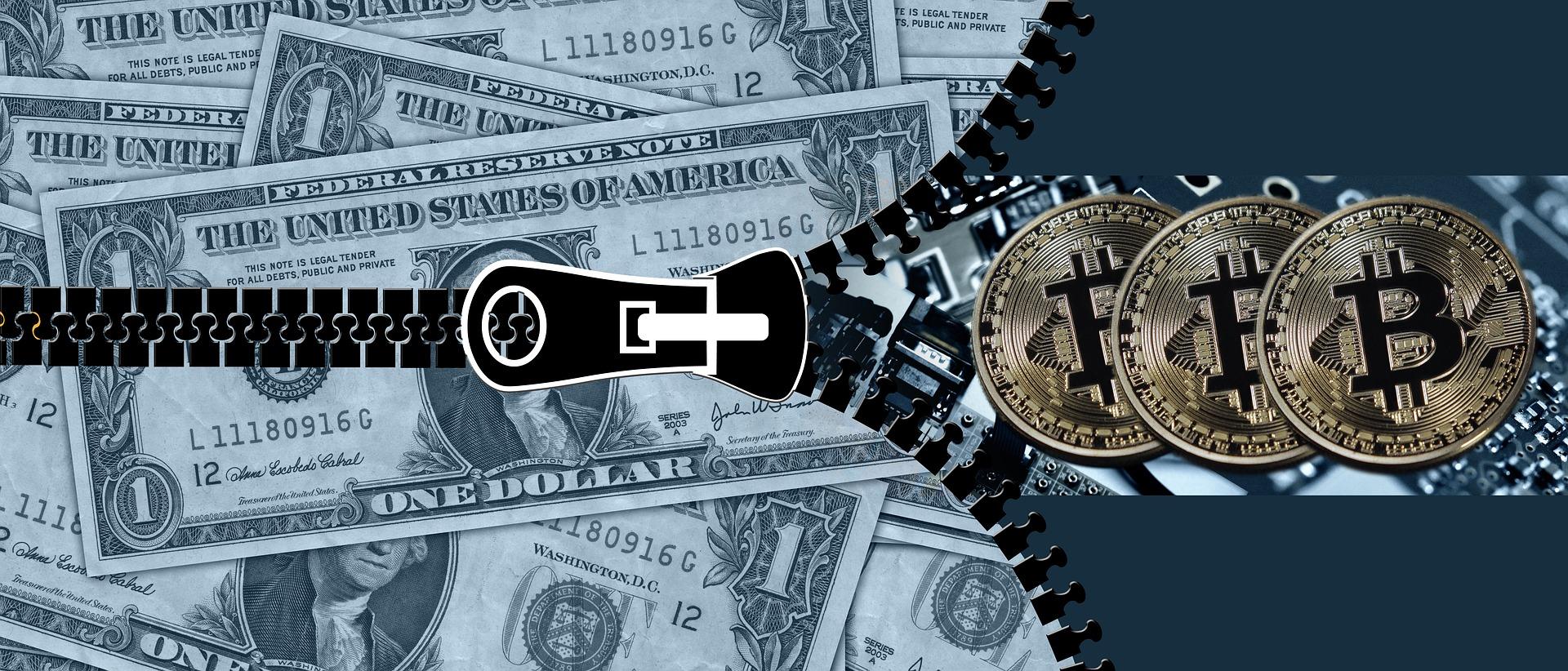 Unzip Dollars to find Bitcoin